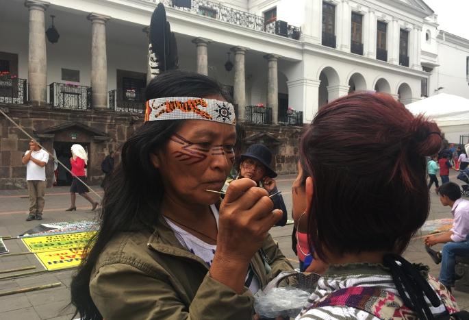 Mujeres amazónicas