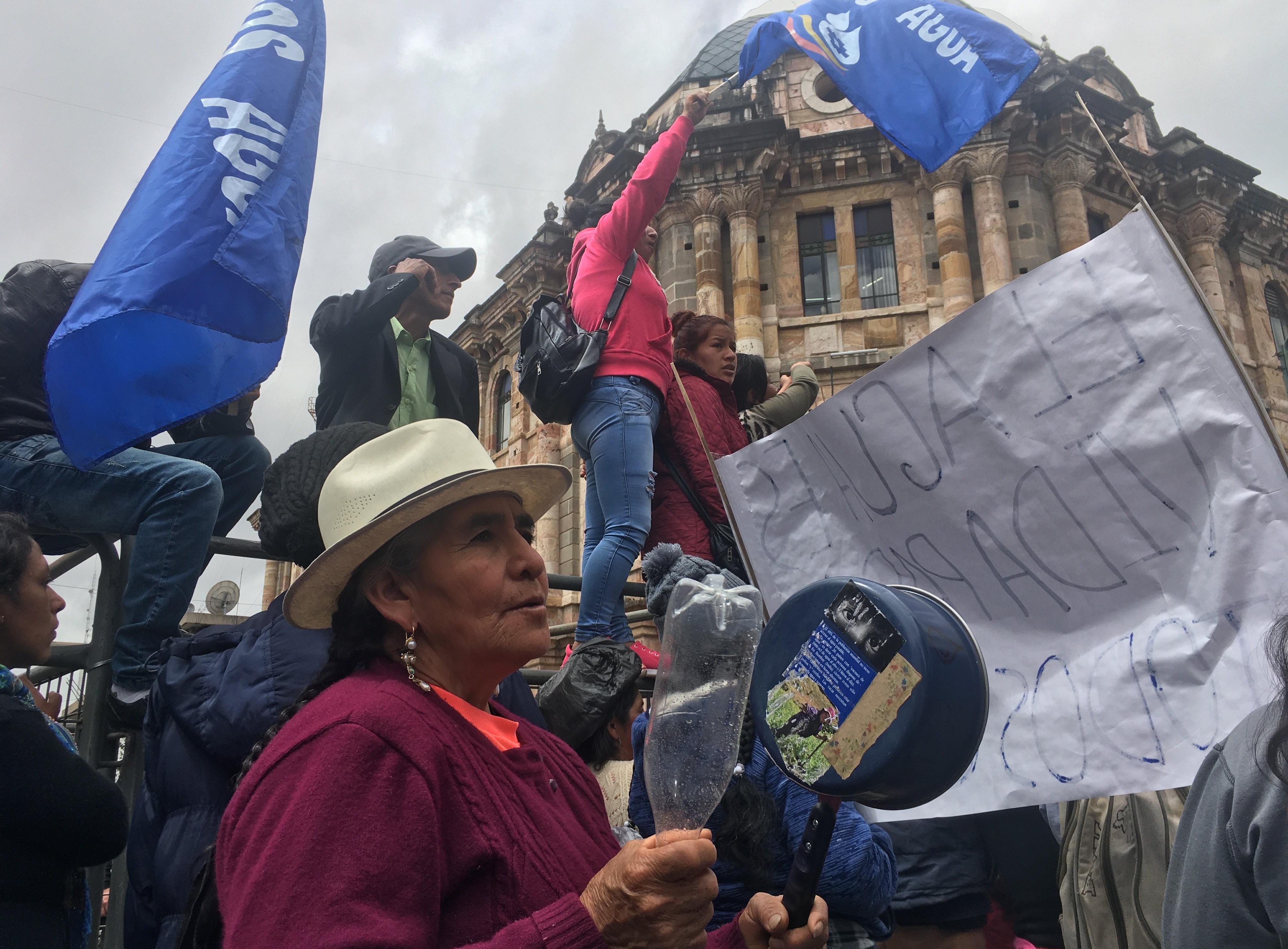Protestas Cuenca